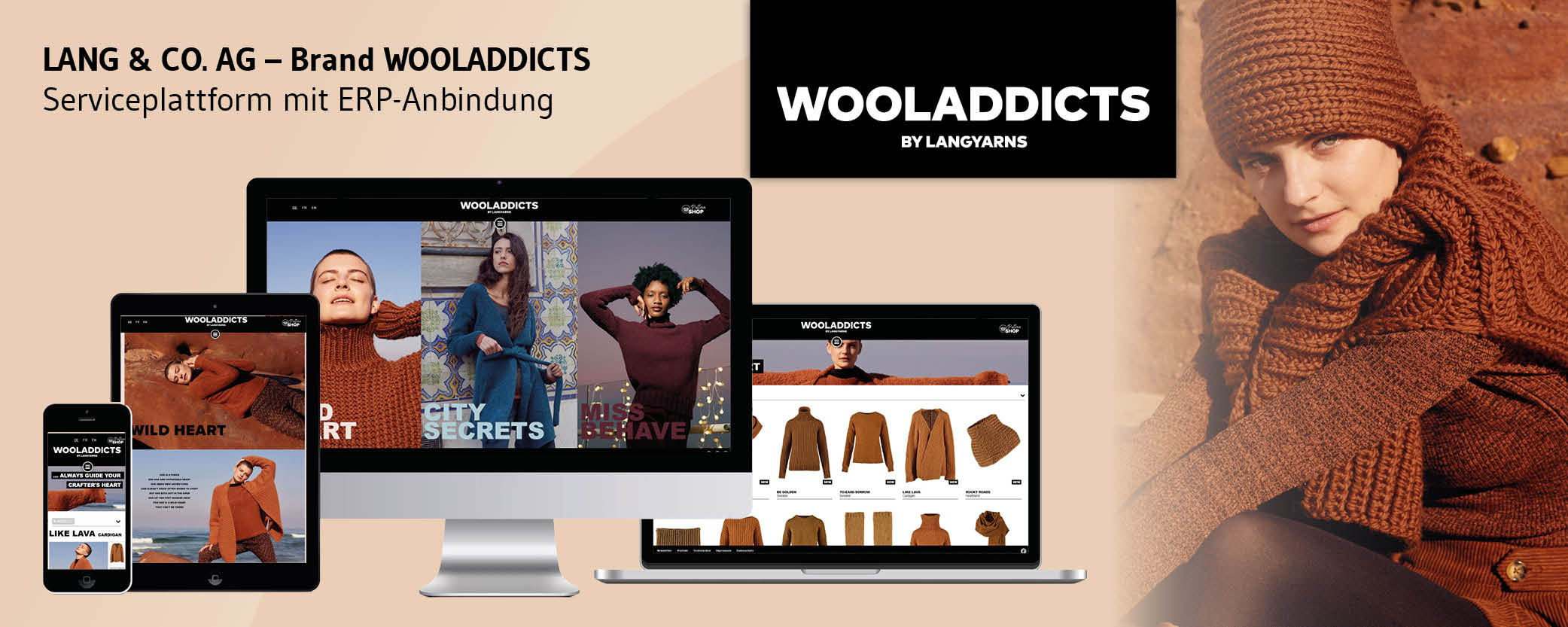 LANG & CO. AG - Brand WOOLADDICTS